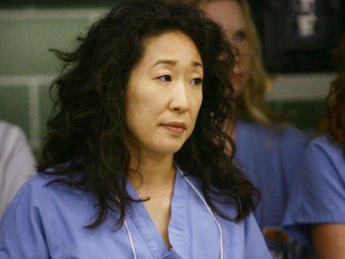 Sandra Oh Cristina Yang Grey's Anatomy