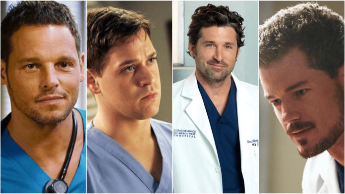 Boys Grey's Anatomy