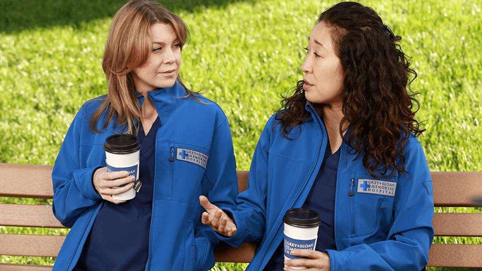 Grey's Anatomy Meredith Grey e Cristina Yang