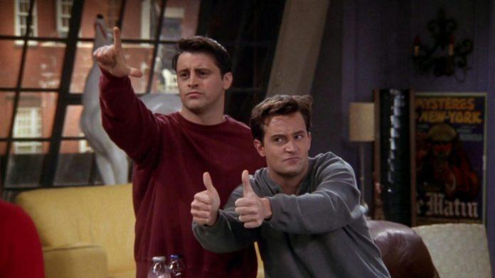 Joey e Chandler